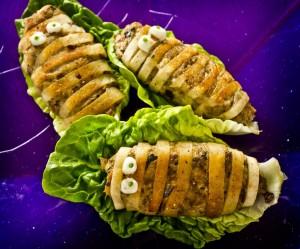 Seafish Halloween recipes photographs by Alan Peebles