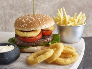Aviko Burger and Fries