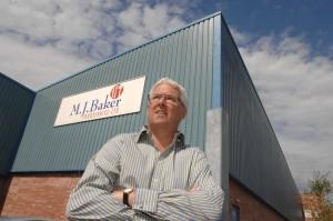 M.J.Baker's managing director Malcolm Baker