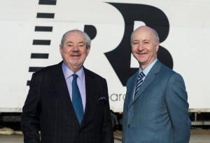 Keith (left) and Marcus Boardall