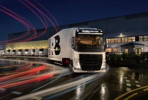 Central Foods RB Lorry and Warehouse - night time