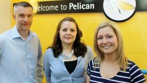 Pelican L-R Will Herman, Rachel Ferguson, Wendy Brown 7 (1280x722)