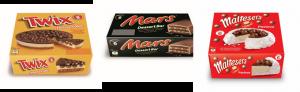Mars Frozen Desserts Range