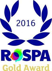 RoSPA Gold Award 2016