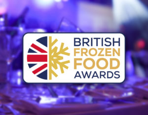 The start of the british frozen food awards announcements