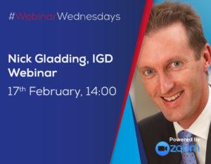 BFFF Webinar Wednesday - Nick Gladding IGD