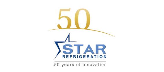 Star Refrigeration 50th Logo