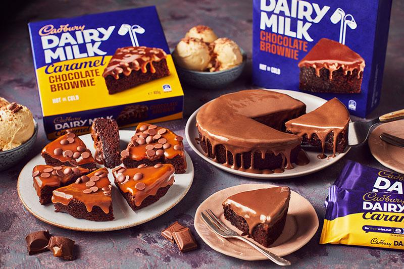 Iceland Cadburys Brownies